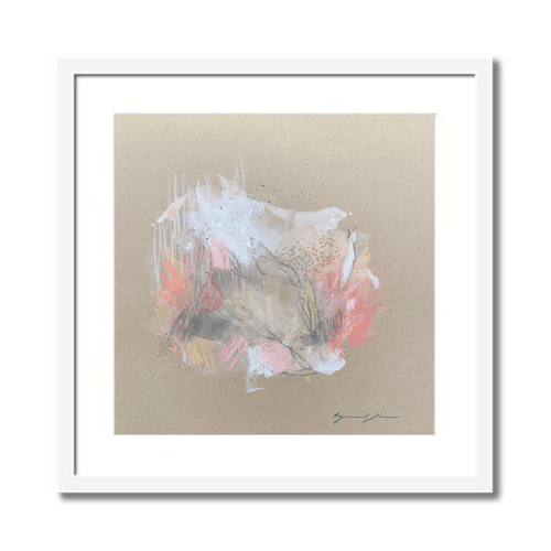 Petals II Abstract Framed Art by Ryanne Shiner
