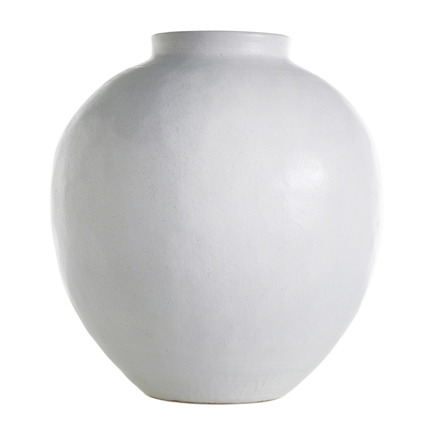 Santorini Indoor/Outdoor Large White Vase Planters