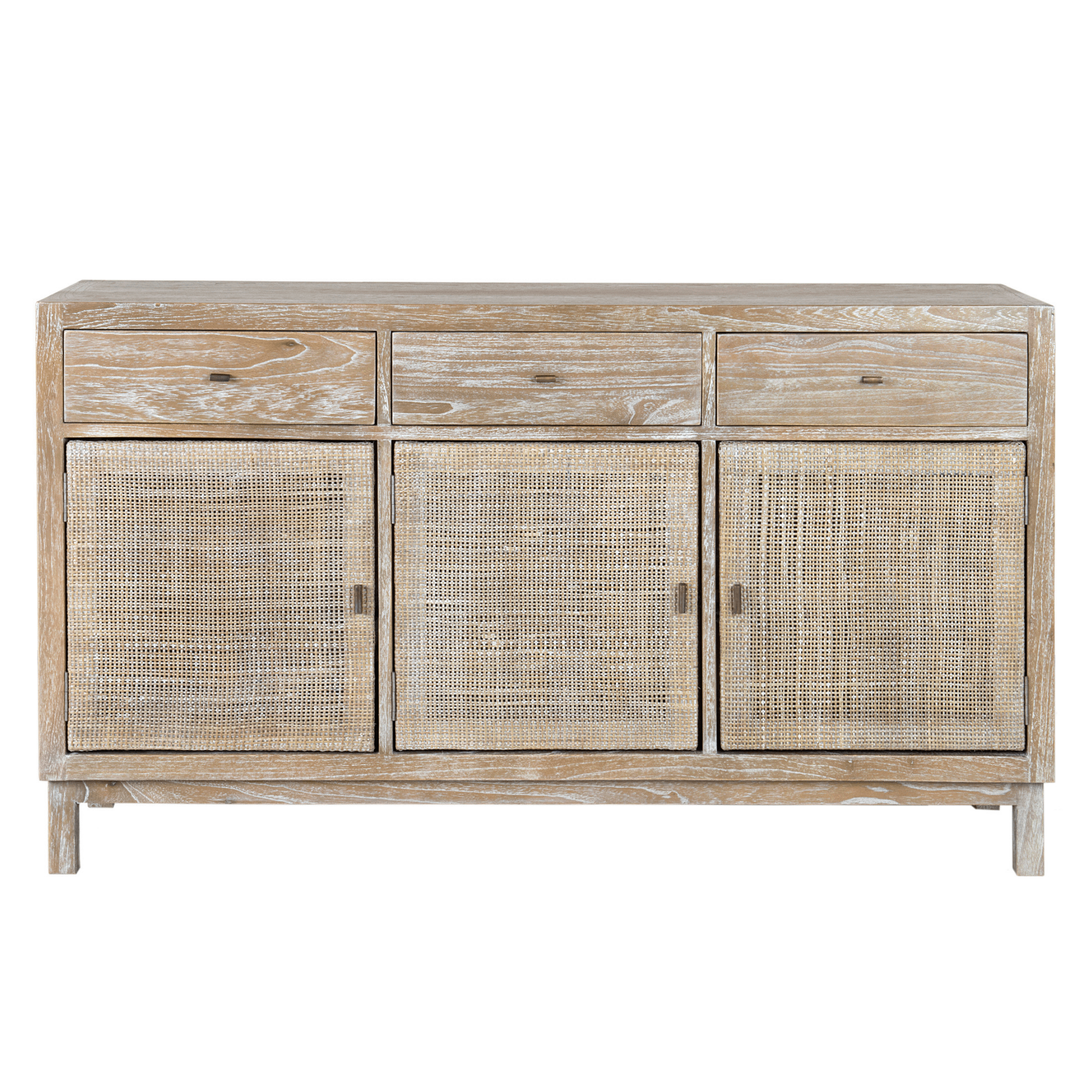 Picture of: Shiloh Grey Rustic Woven Sideboard Winnoby