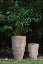 Stellan Terracotta Tall Outdoor Planter