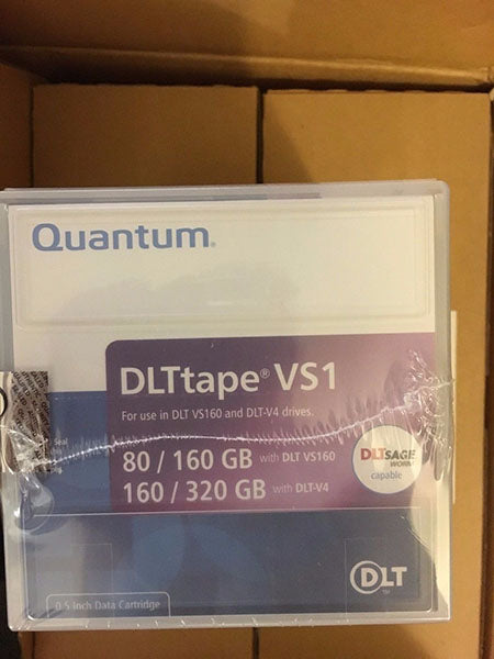 Quantum Tape Data Cartridge DLTtape VS1 VS160 DLT-V4 160GB / 320GB (New)