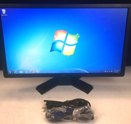 "Dell ST2412Hb 24"" Widescreen LED Monitor Full HD 1080p DVI VGA 16:9 5ms w/ Stand"