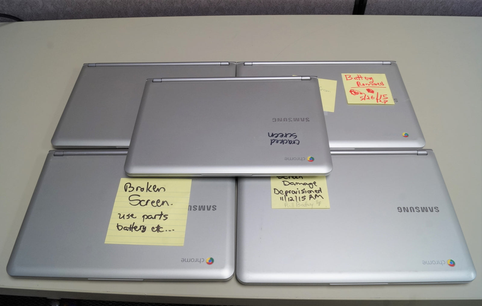 Samsung Chromebook XE303C12 For Parts
