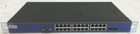 Cisco WS-C3560V2-24PS-S Catalyst 3560V2 24 Port 10/100 POE Switch Layer 3 2 x SFP (mini-GBIC) - 24 x 10/100Base-TX