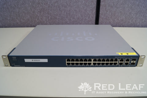 Cisco Catalyst 2960 WS-C2960-PC-L 24-Port PoE Gigabit Ethernet