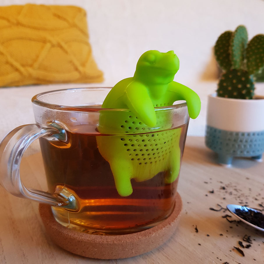 infuseur thé tortue