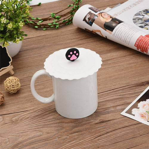 couvercle mug patte de chat