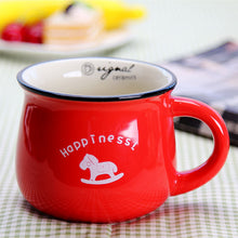 tasse happiness rouge
