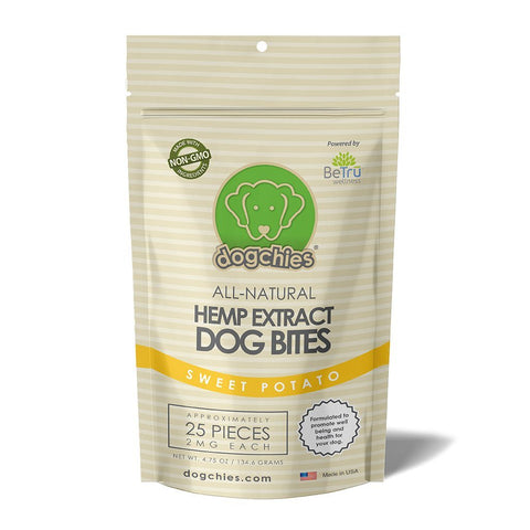 All-Natural Hemp Extract Dog Bites (Sweet Potato) - NANDOG PET GEAR