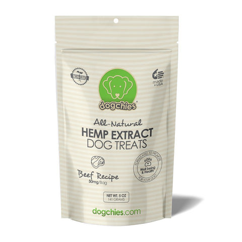 All-Natural Hemp Extract Dog Treats (Beef Recipe) - NANDOG PET GEAR