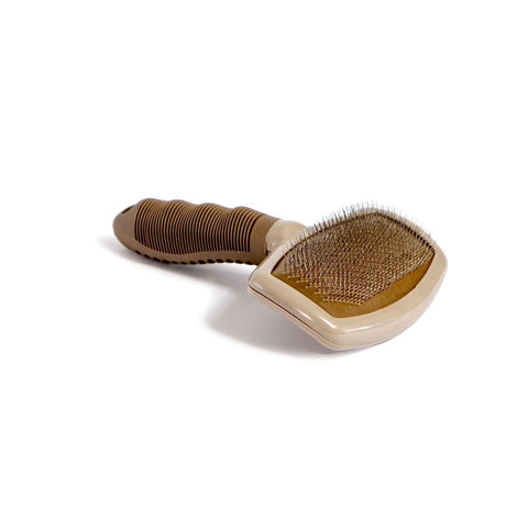 Beige Standard Grooming Brush - NANDOG PET GEAR