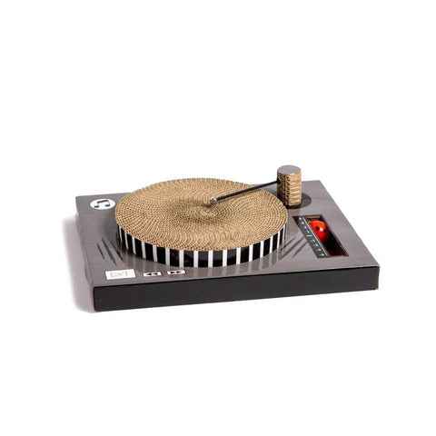 CAT SCRATCHER DJ TURN TABLE - NANDOG PET GEAR