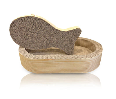 CAT SCRATCHER FISH OVAL SET - NANDOG PET GEAR