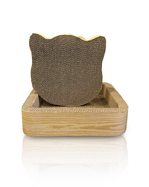 CAT SCRATCHER SQUARE MOUSE SET