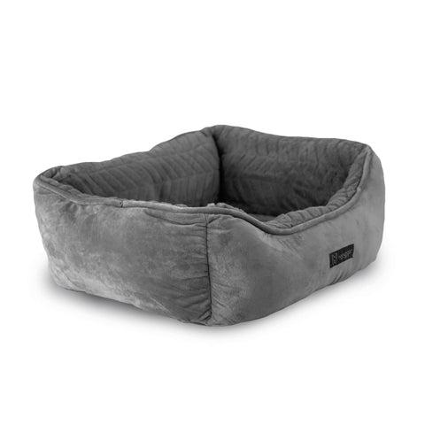 Cloud Reversible Bed (Light Gray Quilt)