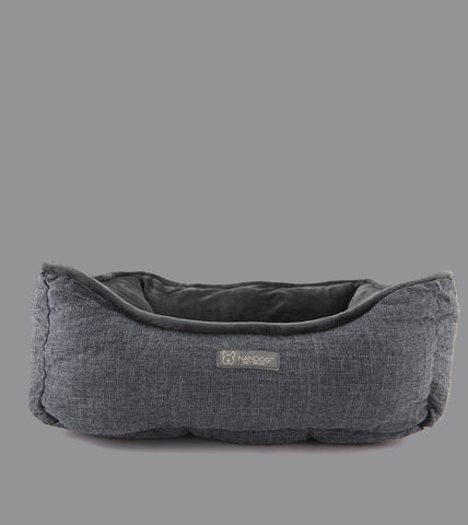 GREY ELEPHANT SHAPE DOG AND CAT BED