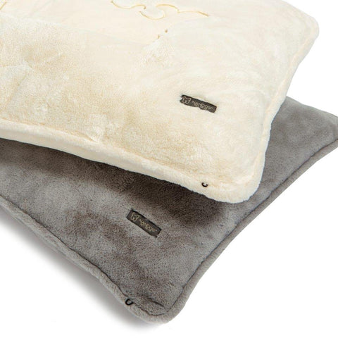 Large Grey Cloud Pillow Bed - NANDOG PET GEAR
