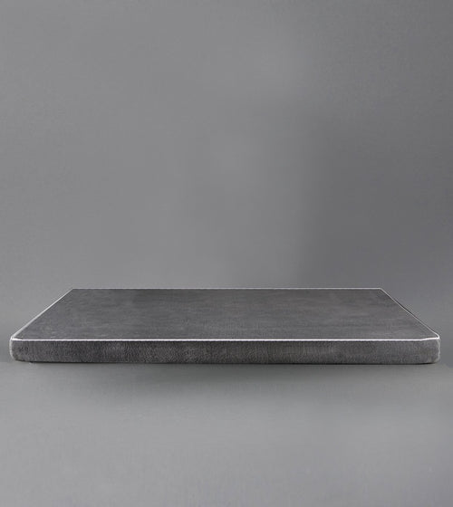 MEMORY FOAM BED DARK GRAY