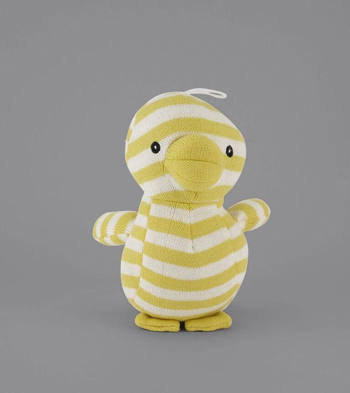 MY BFF KNIT YELLOW STRIPED DUCK