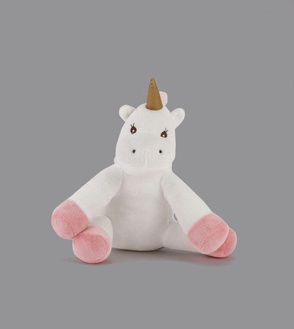WHITE COW DOG TOY