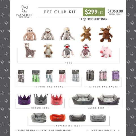 Pet Club Kit - NANDOG PET GEAR
