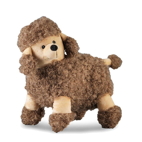 Poodle Dog Toy (Dark Brown) - NANDOG PET GEAR