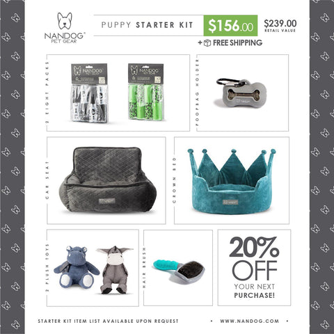Puppy Starter Kit - NANDOG PET GEAR