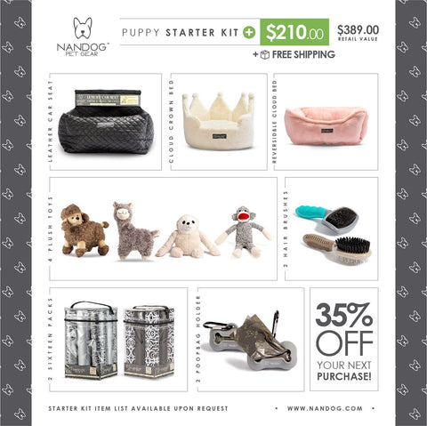 Puppy Starter Kit Plus - NANDOG PET GEAR