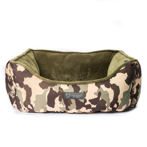 Reversible Bed (Green Camouflage)