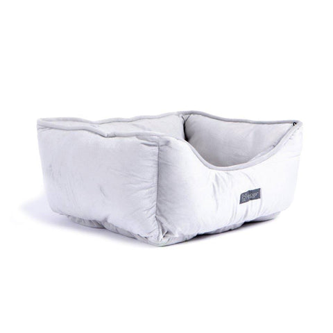 Reversible Bed (Light Gray) - NANDOG PET GEAR