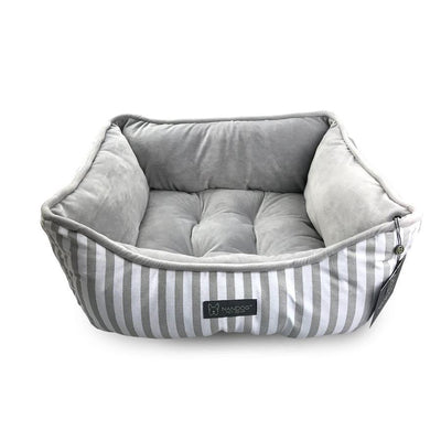 Striped Reversible Dog & Cat Bed
