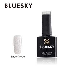 UV/LED gel-lak X-MAS (Snow Globe), 10 ml