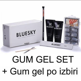 UV/LED Gum gel SET