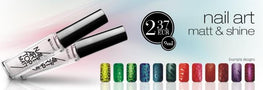 Nail art lak (Mat efekt- Matt Coat), 9ml