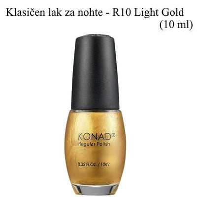 Klasičen lak R10 (Light zlat) 10 ml