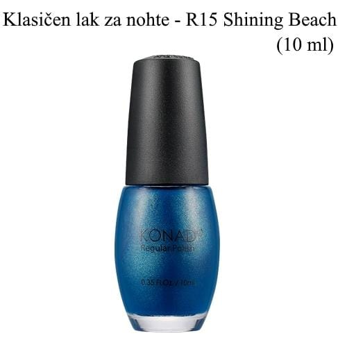 Klasičen lak R15 (Shining beach) 10 ml