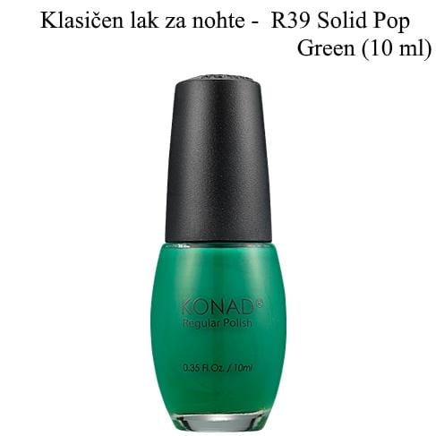 Klasičen lak R39 (Solid pop green) 10 ml