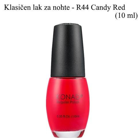 Klasičen lak R44 (Candy Red) 10 ml