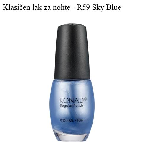 Klasičen lak R59 (Sky Blue) 10 ml