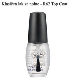 Klasičen lak R72 (Quich Dry Top Coat) 10 ml