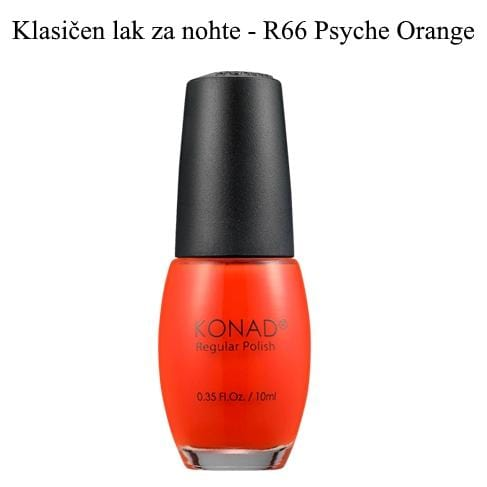Klasičen lak R66 (Psyche Orange) 10 ml