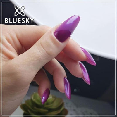 Bluesky UV/LED gel-lak (A64/ Lilac sparkle), 10 ml