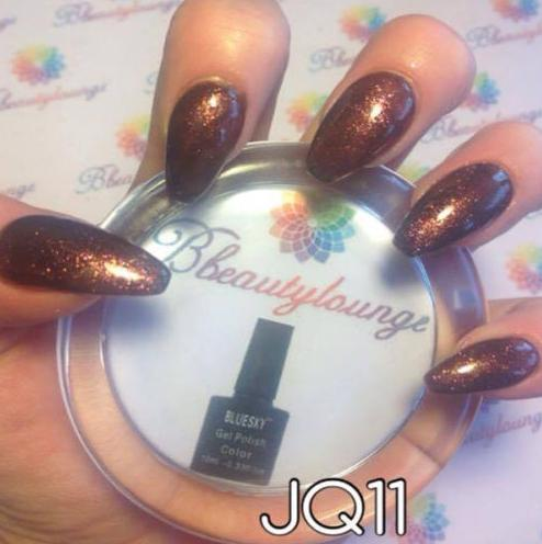 UV/LED gel-lak kraljeva rjava (JQ11/ Frosty chocolate), 10 ml