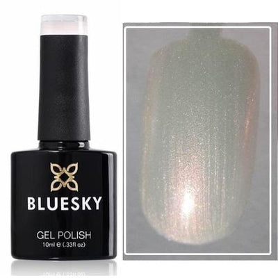 Bluesky UV/LED gel-lak Biserna bela (80528/ Moonlight&roses), 10 ml