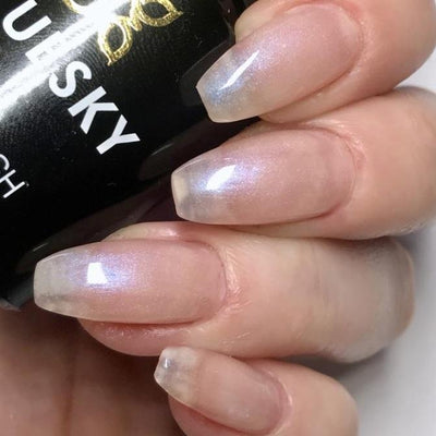 Bluesky UV/LED gel-lak Prozorno - roza (80513/ Beau), 10 ml