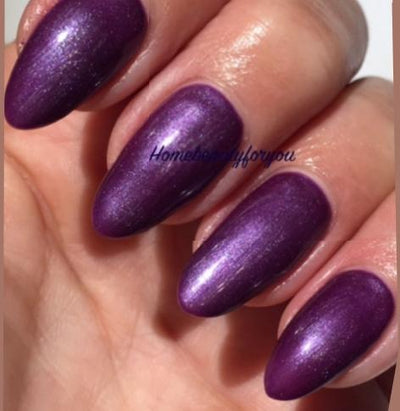 UV/LED gel-lak (80543/ Violette sparkle), 10 ml