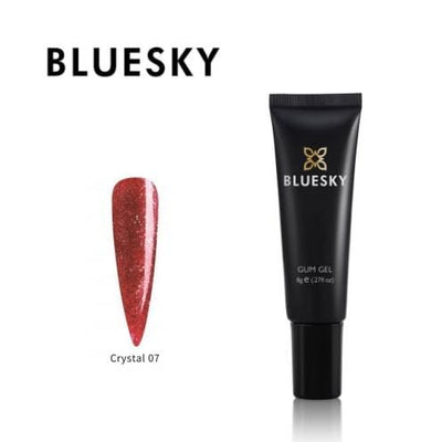 Bluesky UV/LED Barvni Gum gel (Crystal 7), 8g