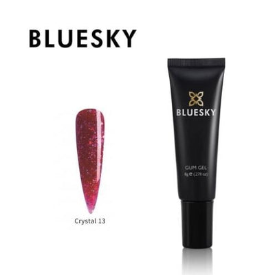 Bluesky UV/LED Barvni Gum gel (Crystal 13), 8g