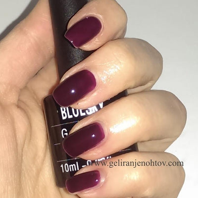 Bluesky UV/LED gel-lak (A16/ Burgundy brown), 10 ml