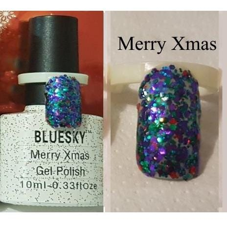 UV/LED gel-lak (Merry Xmas), 10 ml_/stara embalaža
